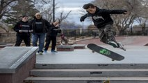 New Year Skateboard Contest - Jaycee Skate Park - Punisher Skateboards