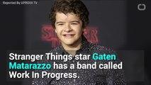 Gaten Matarazzo's Band Plays A Pretty Sweet Paramore Cover