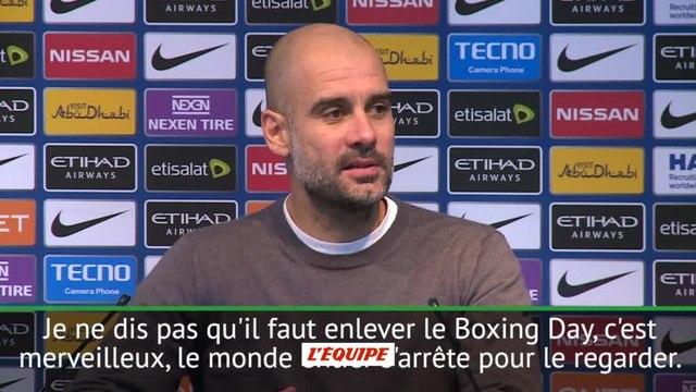 Foot - ANG - City : Guardiola «On est en train de tuer les joueurs»