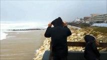Tempête Carmen à Lacanau : du vent et des grosses vagues