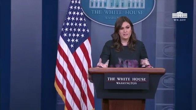 'Trump doesn't mean every word in his tweets' - Sarah Huckabee Sanders