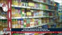 Publiko, naghayag ng opinyon sa mga pagbabagong hatid ng TRAIN Law