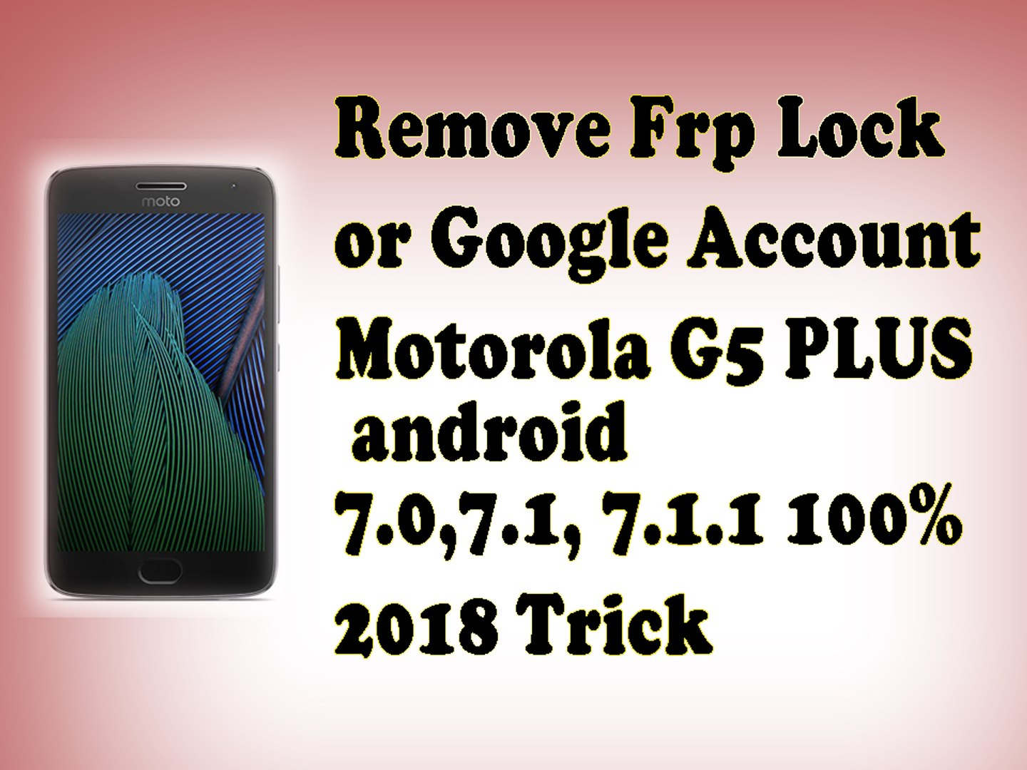 how to remove frp lock apk Motorola G5 Plus bypass google account apk | frp  bypass tool | FRP locK