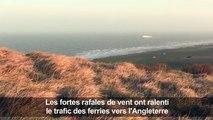 Le littoral du Pas-de-Calais balayé par la tempête Eleanor