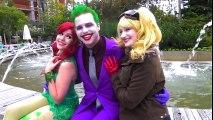 THE JOKER vs COMIC CON!!! Spider-Man, Harley Quinn - Real Life Superhero Movie | Superheroes | Spiderman | Superman | Frozen Elsa | Joker
