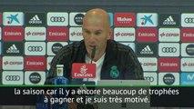 """Real Madrid - Zidane: """"On ne sait pas combien de temps je serais au Real"""""""
