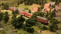 Maquette ferroviaire et trains en échelle H0 de l'Allemagne - Une vidéo de Pilentum Télévision sur le modélisme ferroviaire avec des trains miniatures