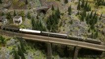 Réseau ferroviaire de la montagne du Gothard en Suisse - Une vidéo de Pilentum Télévision sur le modélisme ferroviaire avec des trains miniatures