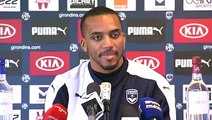Conférence Nicolas Maurice Belay avant Bordeaux/Lille par Girondins