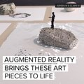 Augmented reality brings art to life