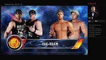 WWE 2K18 NJPW Wrestle Kingdom 12 IWGP Junior Tag Team Championship The Young Bucks Vs Roppongi 3K