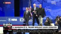 Donald Trump demande la non-publication d'un livre explosif de Steve Bannon son ancien conseiller pendant sa campagne