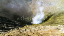 Caldera Active Volcano Bromo in East Java, Indonesia by Timelapse4K