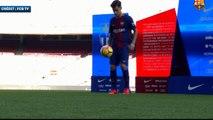 Barça : les jongles de Coutinho au Camp Nou !