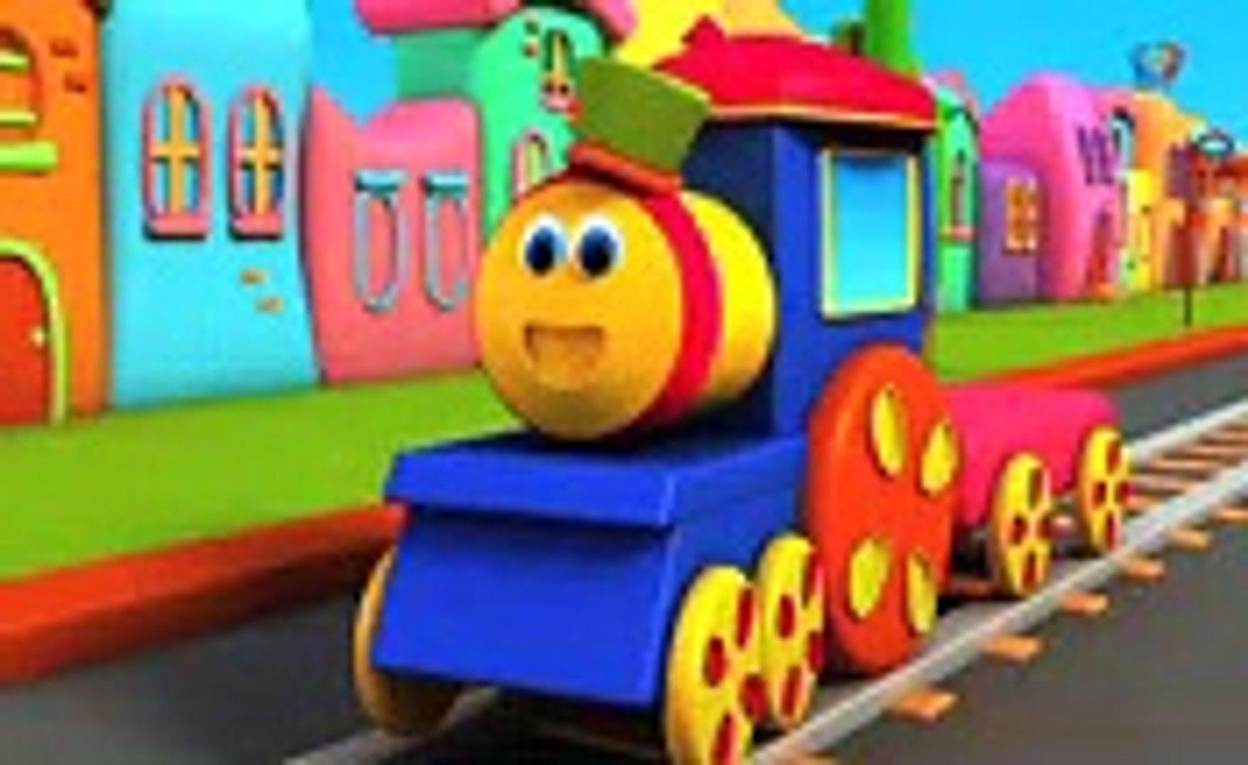 Bob le train Couleur balade apprendre les couleurs avec bob Color Ride For Kids Bob Train Rhyme by D