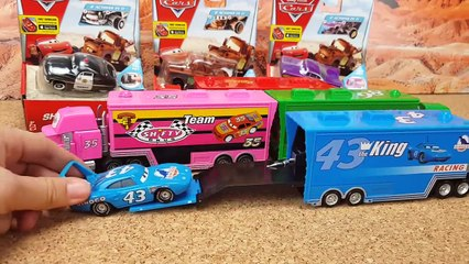 Disney Pixar Cars3 Toys Lightning McQueen Mack Truck for kids Many cars to