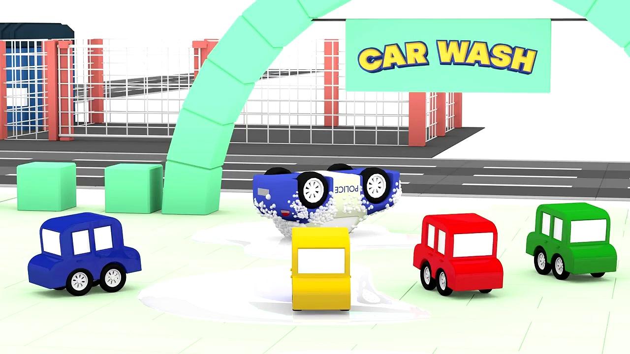 Cartoon Cars – GOLD CRIMINAL CAR! – Cars Carto