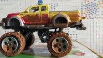 Car Push Battle - Toy Cars Pushing Each