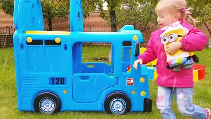 Wheels On The Bus Tayo Little Bus Nursery Rhymes Songs for Kids Toddlers Babies Learn Colors with