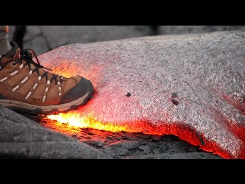 What You can Learn From a Quick Step on hot Lava.