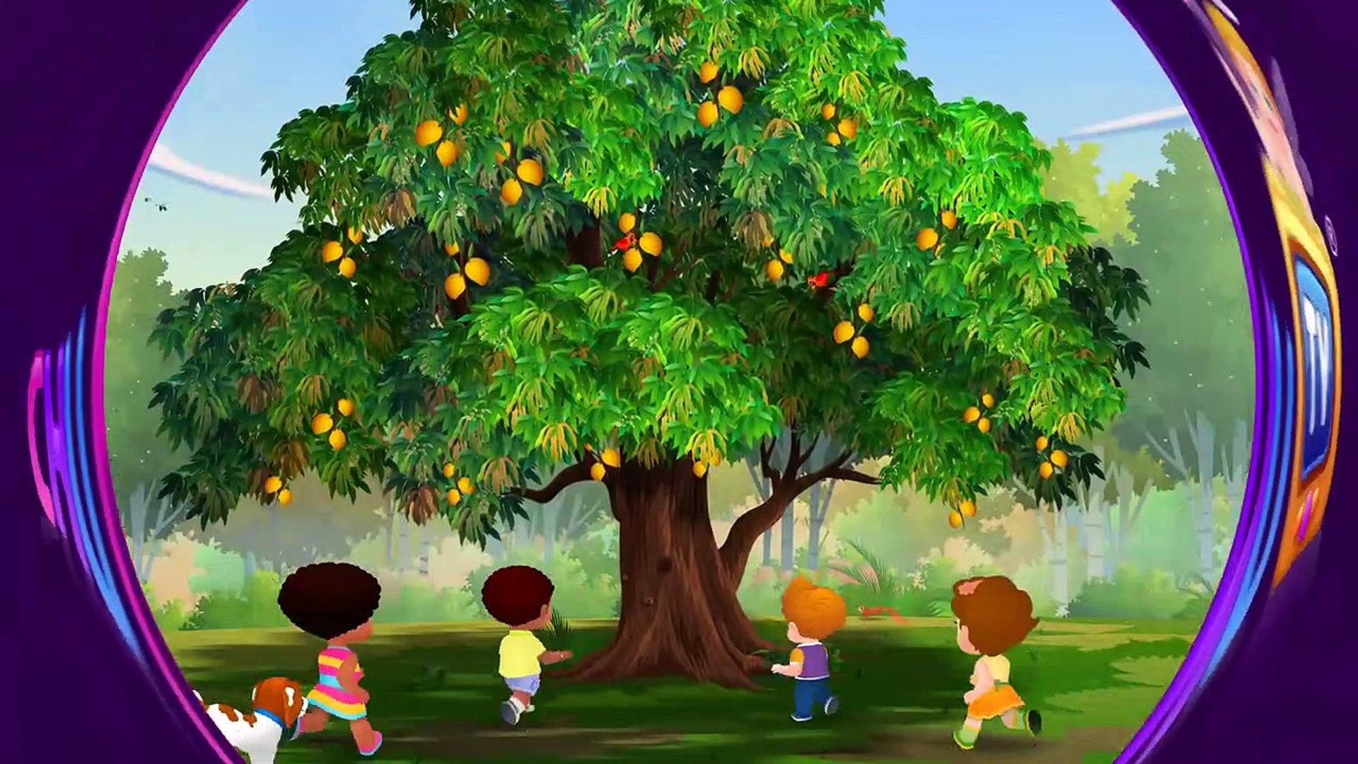 Mango Tree Cartoon / International mango festival , mango cartoon, yellow mango illustration png clipart.