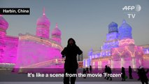 Cool as ice: Harbin Ice and Snow Sculpture Festival in China