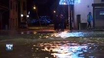 Après la tempête Eleanor, des coulées de boue et d'importantes inondations