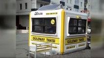 Kayseri'de Kendi Elektriğini Üreten Taksi Durağı