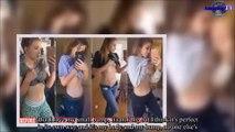 Cette femme est enceinte de 6 mois mais personne ne la croit tellement son ventre est plat