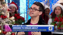 Fashion designer Christian Siriano shares the inspiration behind his iconic gowns