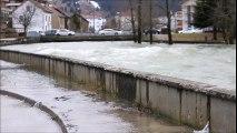 Inondations Haut-Doubs Pontarlier et Doubs