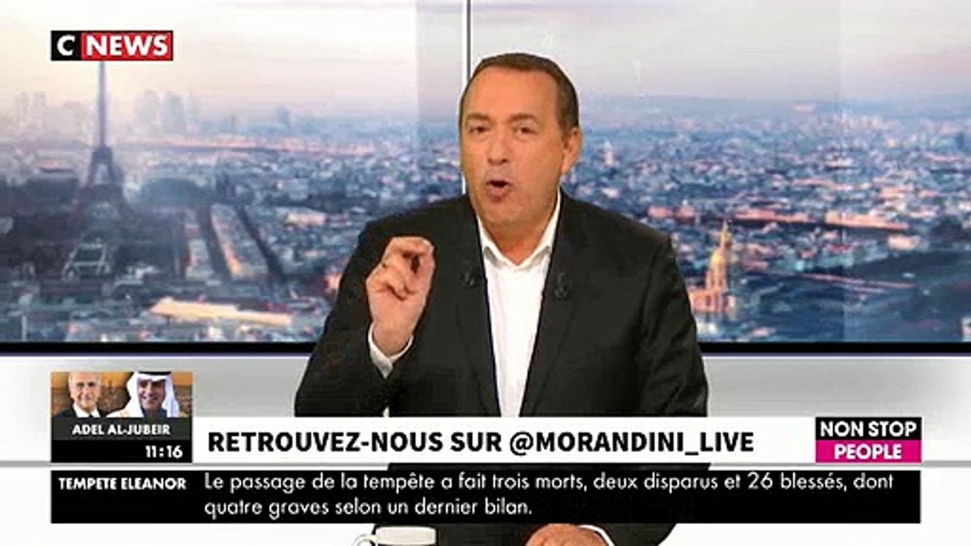 Fou rire hier en direct dans Morandini Live sur CNews et Non Stop People après un trou de mémoire de