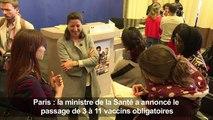 Vaccination: passage de 3 à 11 vaccins obligatoires (Buzyn)