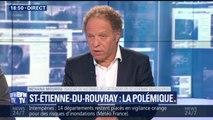 """Saint-Étienne-du-Rouvray: """"Ce qui a été révélé, ça s'appelle en droit pénal du 'faux criminel'"""", dit l'avocat des victimes"""