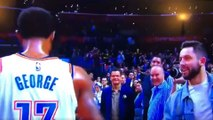 Paul George Has NO IDEA Who Baker Mayfield Is
