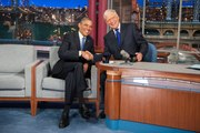 Barack Obama Will Be David Letterman's First Guest on His New Netflix Show