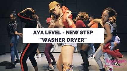 WASHER DRYER VYBZ KARTEL - AYA LEVEL NEW STEP - DANCEHALL CHOREO