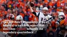 Tom Brady's Agent Responds to Bombshell ESPN Report