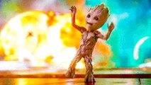 LES GARDIENS DE LA GALAXIE 2: La danse de bébé GROOT!