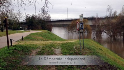 Crue de la Dordogne