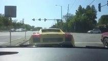 Quand tu t'achetes une Lamborghini alors que tu ne sais pas conduire... FAIL