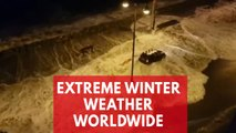 Beyond the 'bomb cyclone': extreme winter weather worldwide