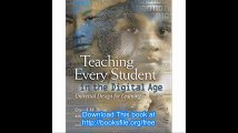 Teaching Every Student in the Digital Age Universal Design for Learning