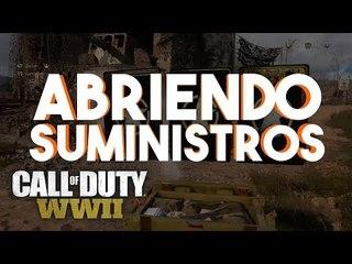 ¡¡¡ MI PRIMER ABRIENDO SUMINISTROS EN WW2 !!!