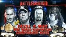 Roman Reigns & John Cena vs Seth Rollins, Randy Orton & Kane 2-on-3 Handicap Match  Raw Latino by pk Entertainment HD , Tv series online free fullhd movies cinema comedy 2018