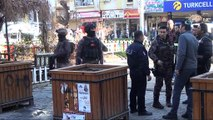 Diyarbakır'da kafelerin bulunduğu binaya EYP'li saldırı