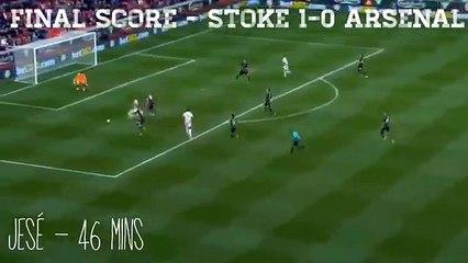 Le but de Jese avec Stoke