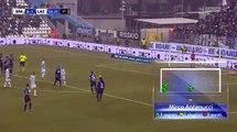 Antenucci (Penalty) Goal HD - Spal1-1Lazio 06.01.2018