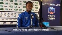Bakary Kone et Thierry Laurey