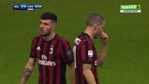 Leonardo Bonucci  Goal HD -AC Milan1-0Crotone 06.01.2018